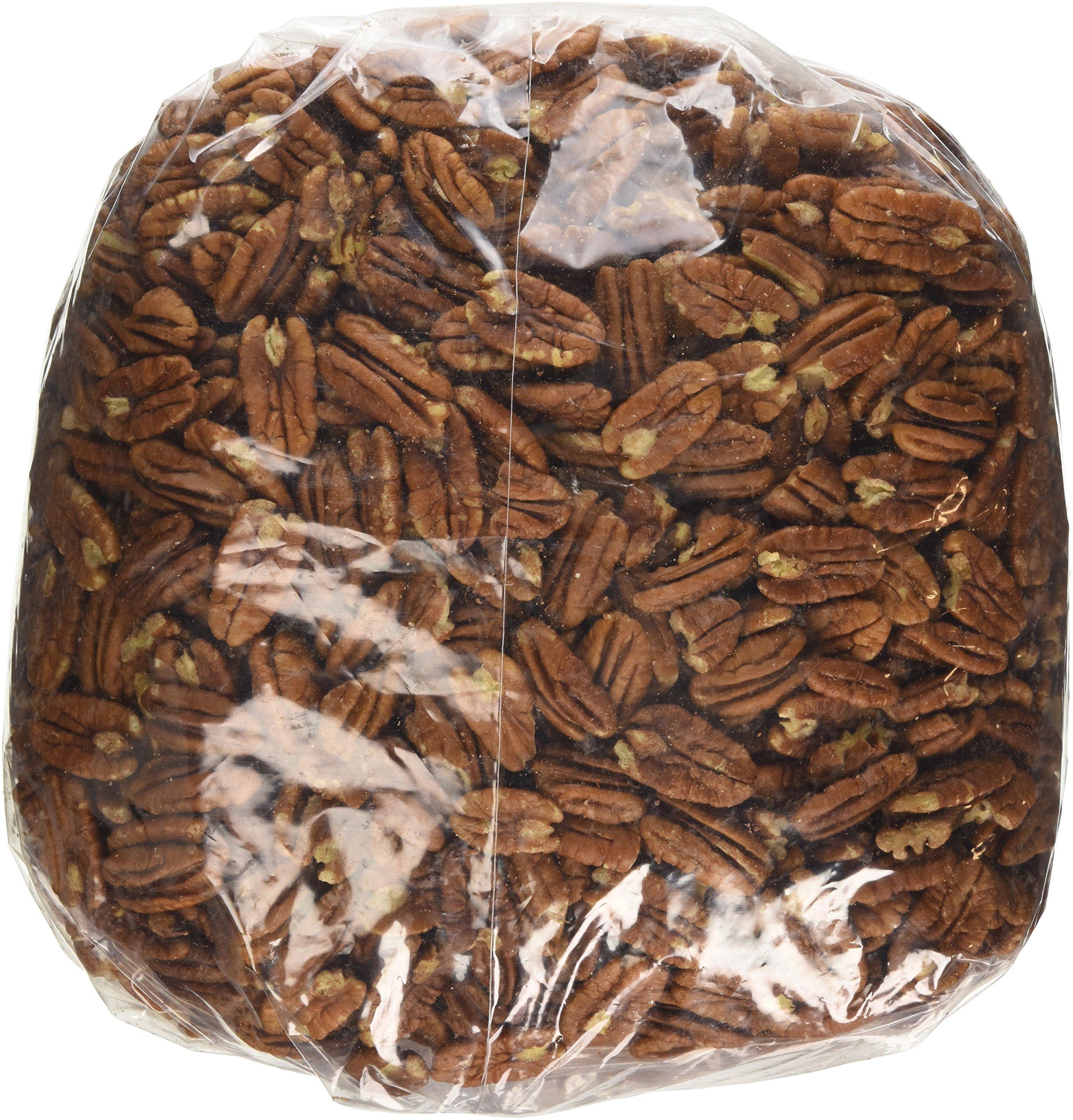 BULK NUTS NUT USA. PECAN HALVES JR MAMMO, 5 LB