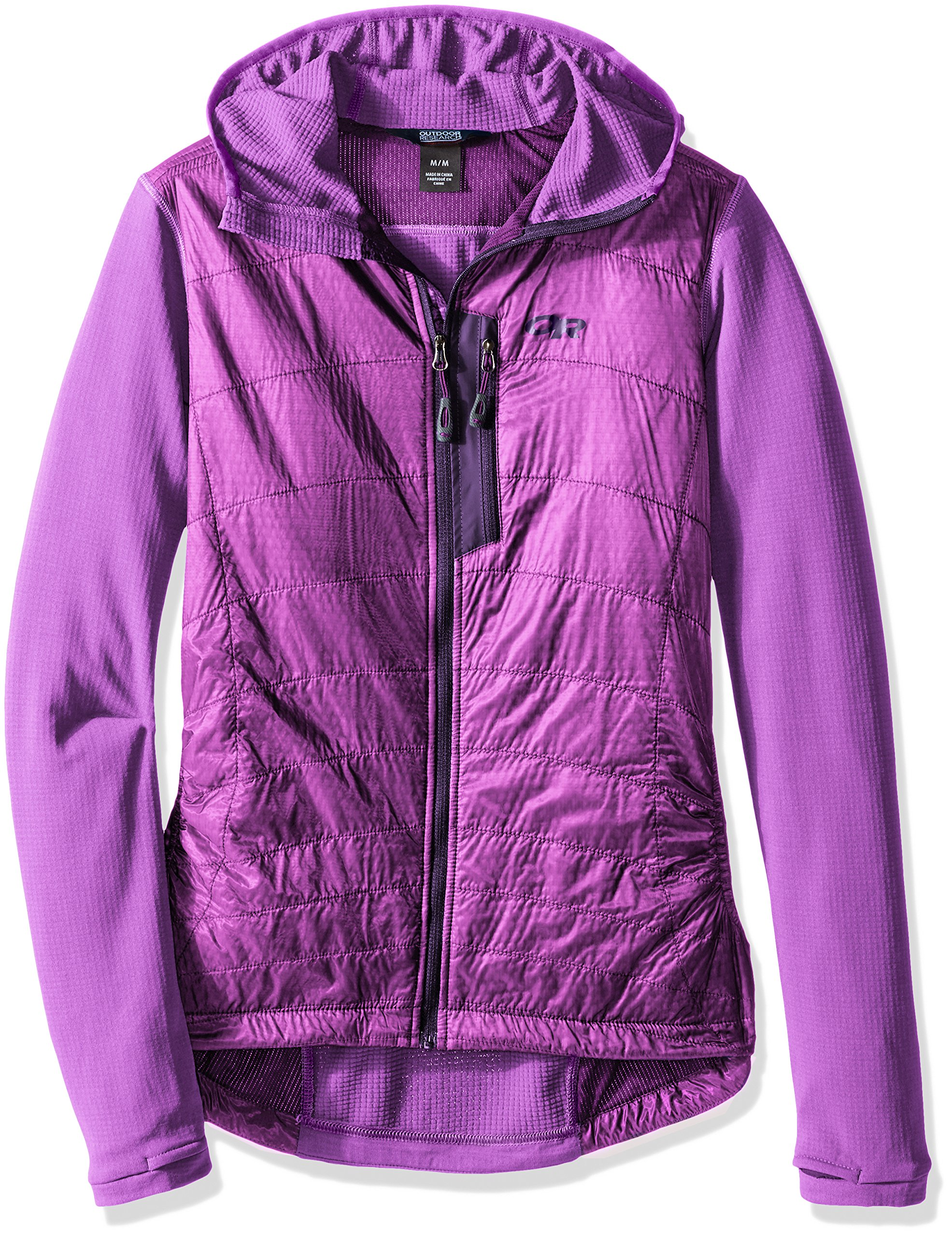 Outdoor Research Women's Deviator Hoody, Ultraviolet, X-Large