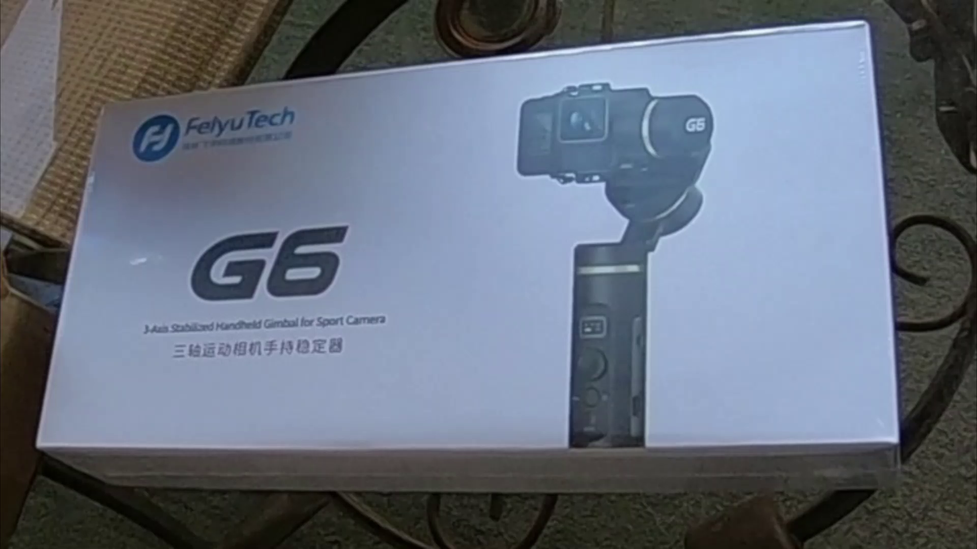 Amazon.com : FY FEIYUTECH Feiyu G6 3-Axis Splash Proof Handheld ...