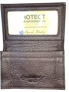 42af087efbd Amazon.com  Osgoode Marley Cashmere Collection Elite Card Case Black ...