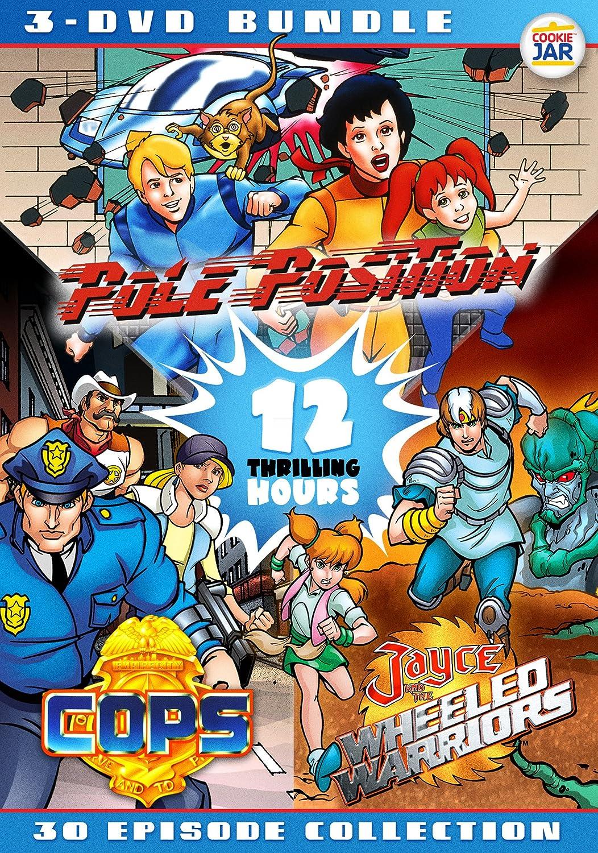 Amazon Com 80s Cartoon Bundle C O P S Jayce Pole Position Jayce Bulletproof Various Movies Tv