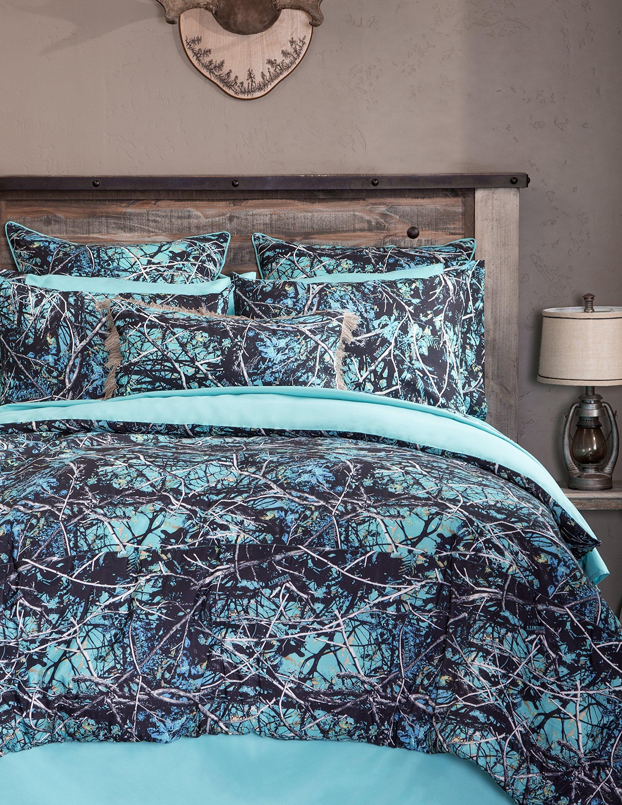 Carstens Muddy Girl Serenity 4 Piece Bedding Set, King