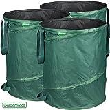 GardenMate® 3x sac de déchets Pop Up tissu Oxford 600D 160L
