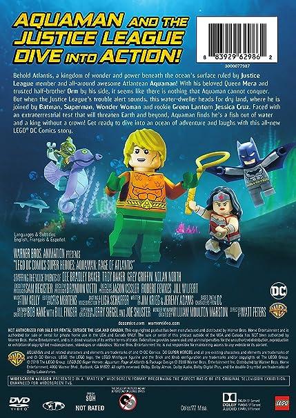 Amazon.com: LEGO DC Super Heroes: Aquaman: Rage of Atlantis ...