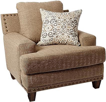 Amazon Com Franklin Furniture Hobbs Chair Large Sandstone
