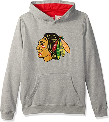 NHL Youth Boys Prime Grey Pullover Hoodie