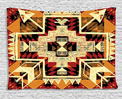 Amazon.com: Ambesonne Native American Tapestry Inspirational Arrow ...