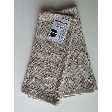 KitchenAid 2 Checkered Sand Towels