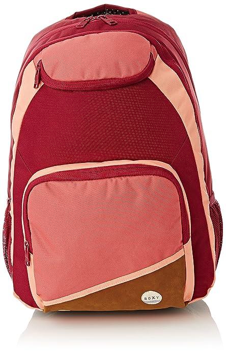 RoxyShadow Swell CK - Mochila Escolar Mujer, Rosa (Rose (Red Plum)), Talla única: Roxy: Amazon.es: Zapatos y complementos