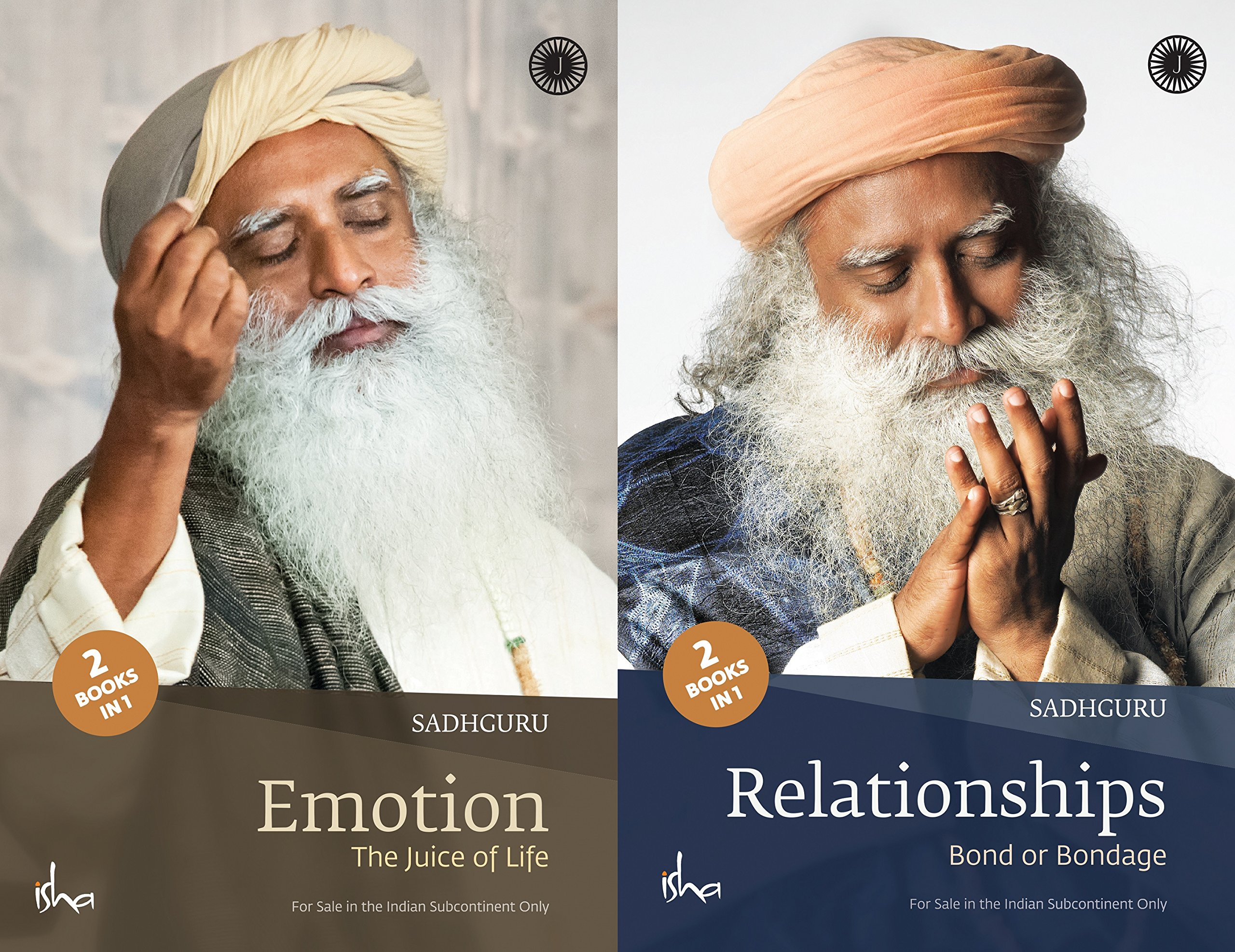 Emotion And Relationships 2 Books In 1 Sadhguru Jaggi Vasudev 9789386867506 Amazon Com Books