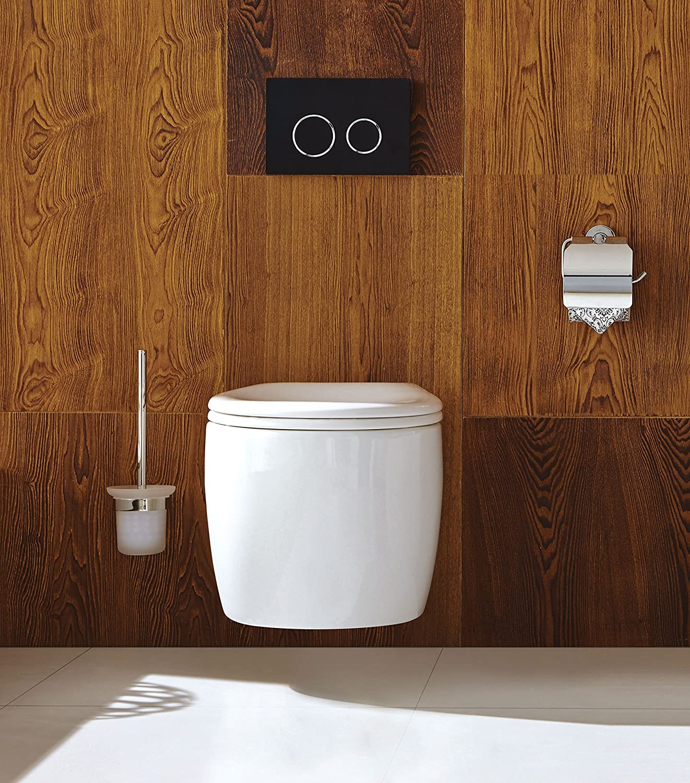 Wand WC WH-6010 Keramik Tiefspül Hänge WC mit Soft-Close WC-Sitz