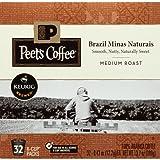 Amazon Price History for:Peet's Coffee Brazil Minas Naturais medium roast 32ct K-Cup Packs