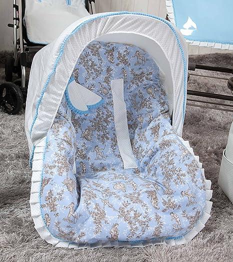 grupo 0 Saco color azul Babyline Destellos