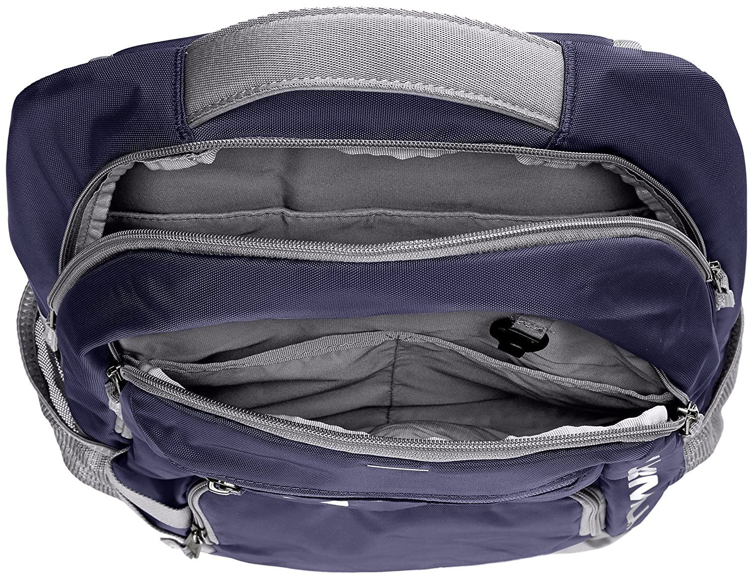 400 Under Armour Storm Hustle II Backpack Royal //Silver One Size Under Armour Bags 1263964