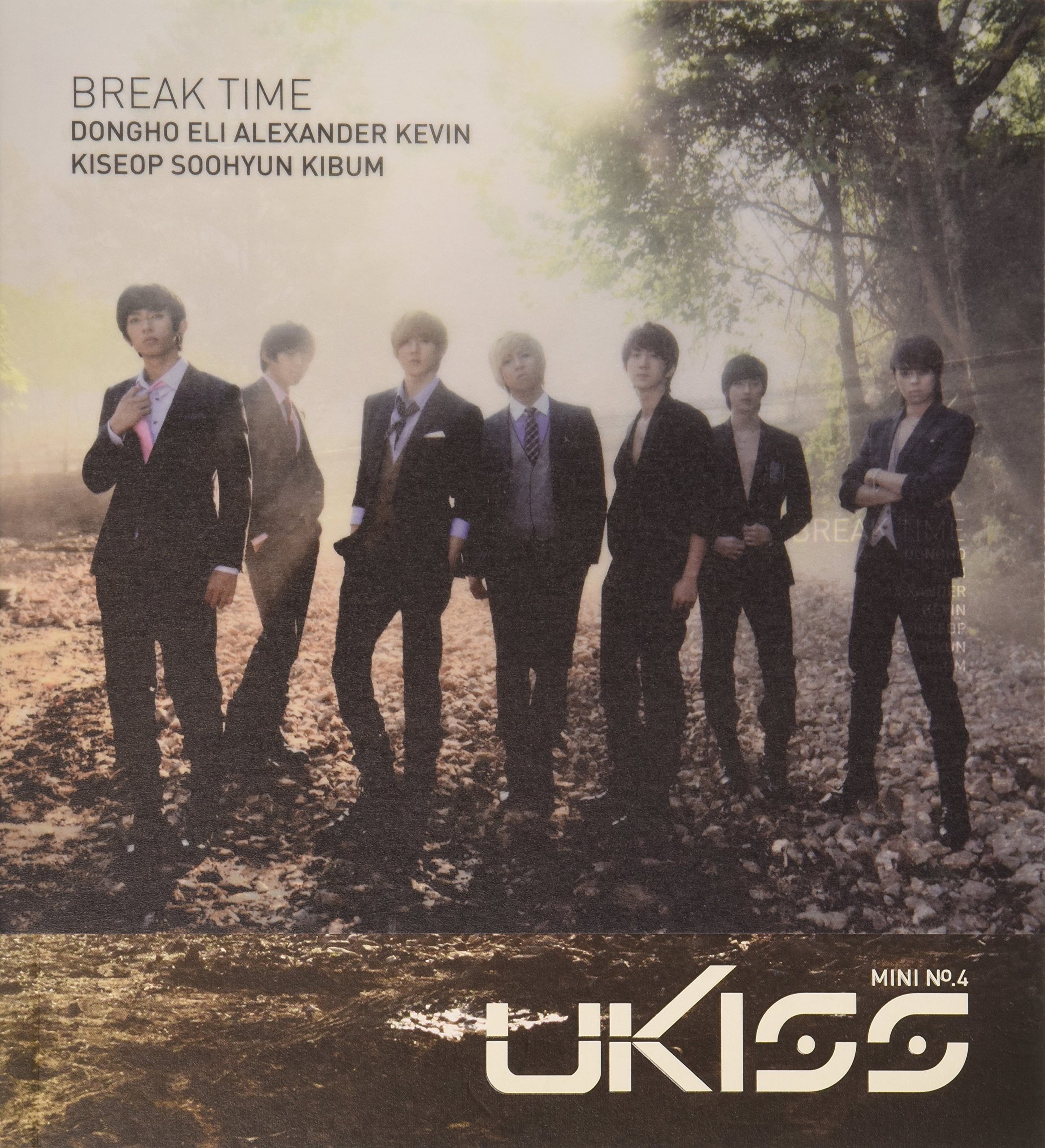 CD : U-Kiss - Break Time Mini Album (Asia - Import)