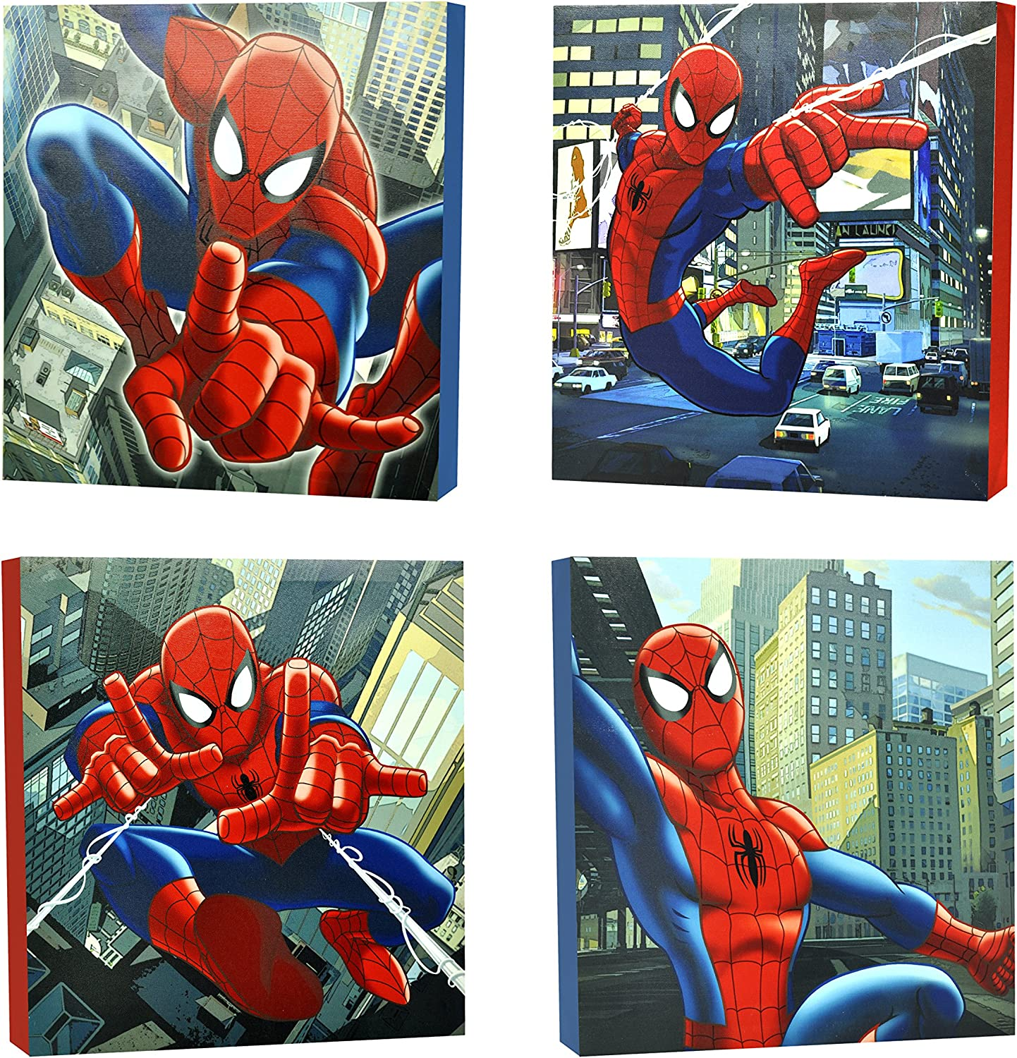 Spider Man Marvel Comics Homecoming Movie Wall Art Poster Canvas Pictures