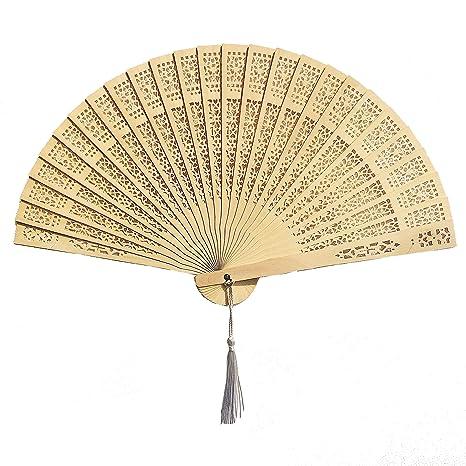 Amazon.com: Mcuppe chino manos ventiladores – Favores ...