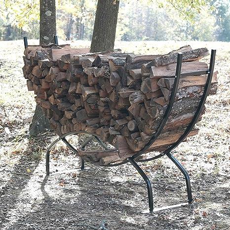 Titan al aire libre resistente soporte para leña para leños ...