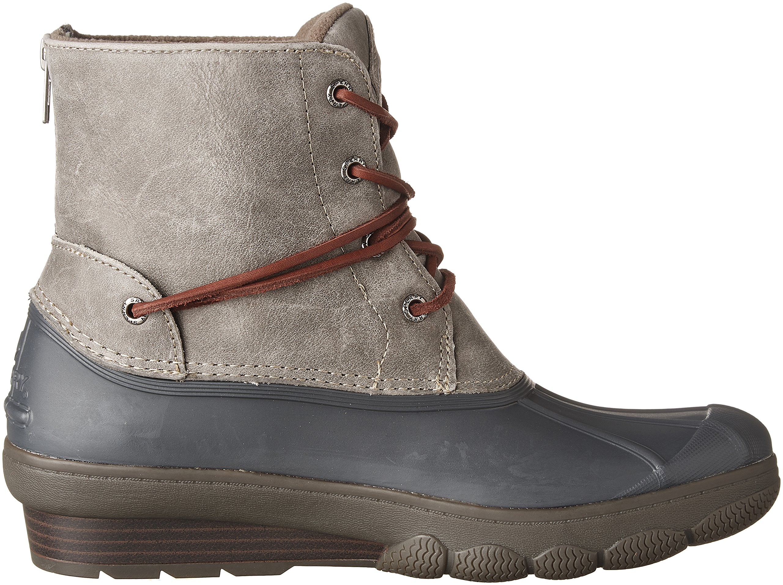 Sperry Top-Sider Women's Saltwater Wedge Tide Rain Boot, Grey, 8 Medium US by Sperry Top-Sider (Image #7)
