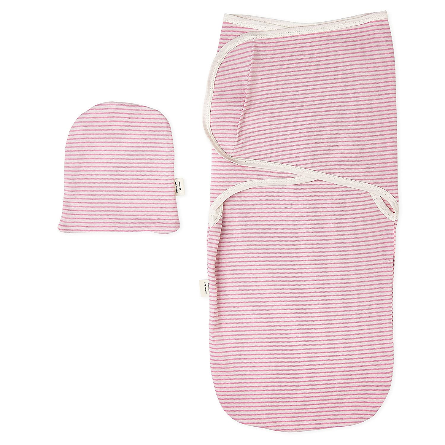 blanket Wrap With Cap Strict New Organic Cotton Newborn Swaddle Blanket Hats Baby Swaddle Set For 0-6 Months Baby Photography Props