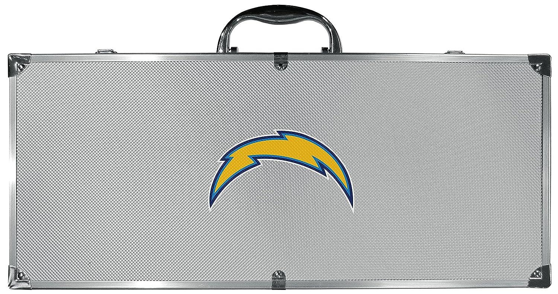 NFLユニセックス8 pc Tailgater BBQセット B079V677C5 Set of 8|グレー|Los Angeles Chargers グレー Set of 8