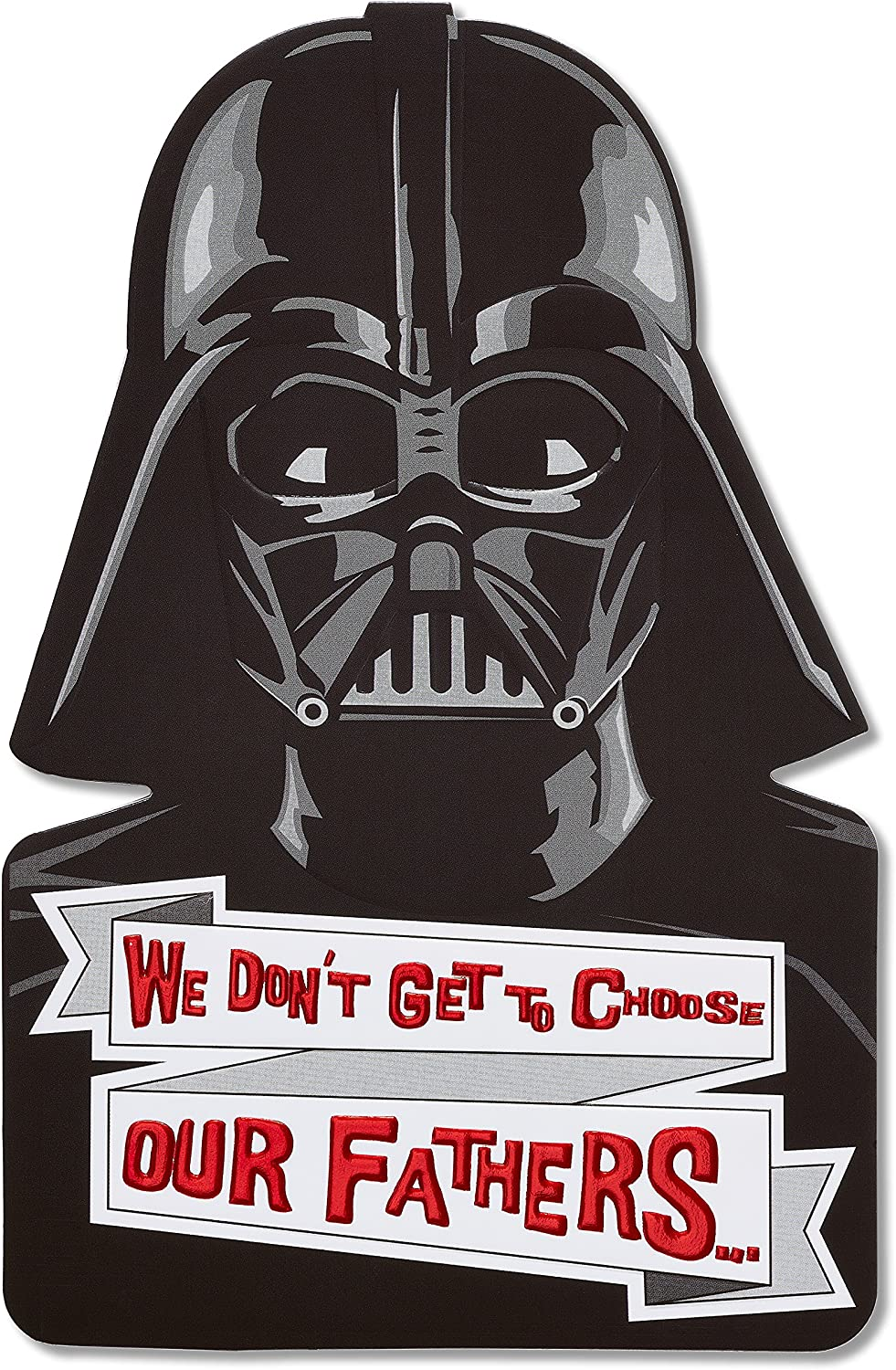 Amazon Com American Greetings Funny Father S Day Card Star Wars Darth Vader Office Products