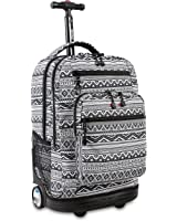 J World New York Sundance LAPTOP Rolling Backpack for Schooling & Travel, 20 inch