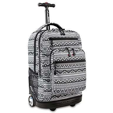 Amazon.com  J World New York Sundance Laptop Rolling Backpack 5d8a22c959cfb