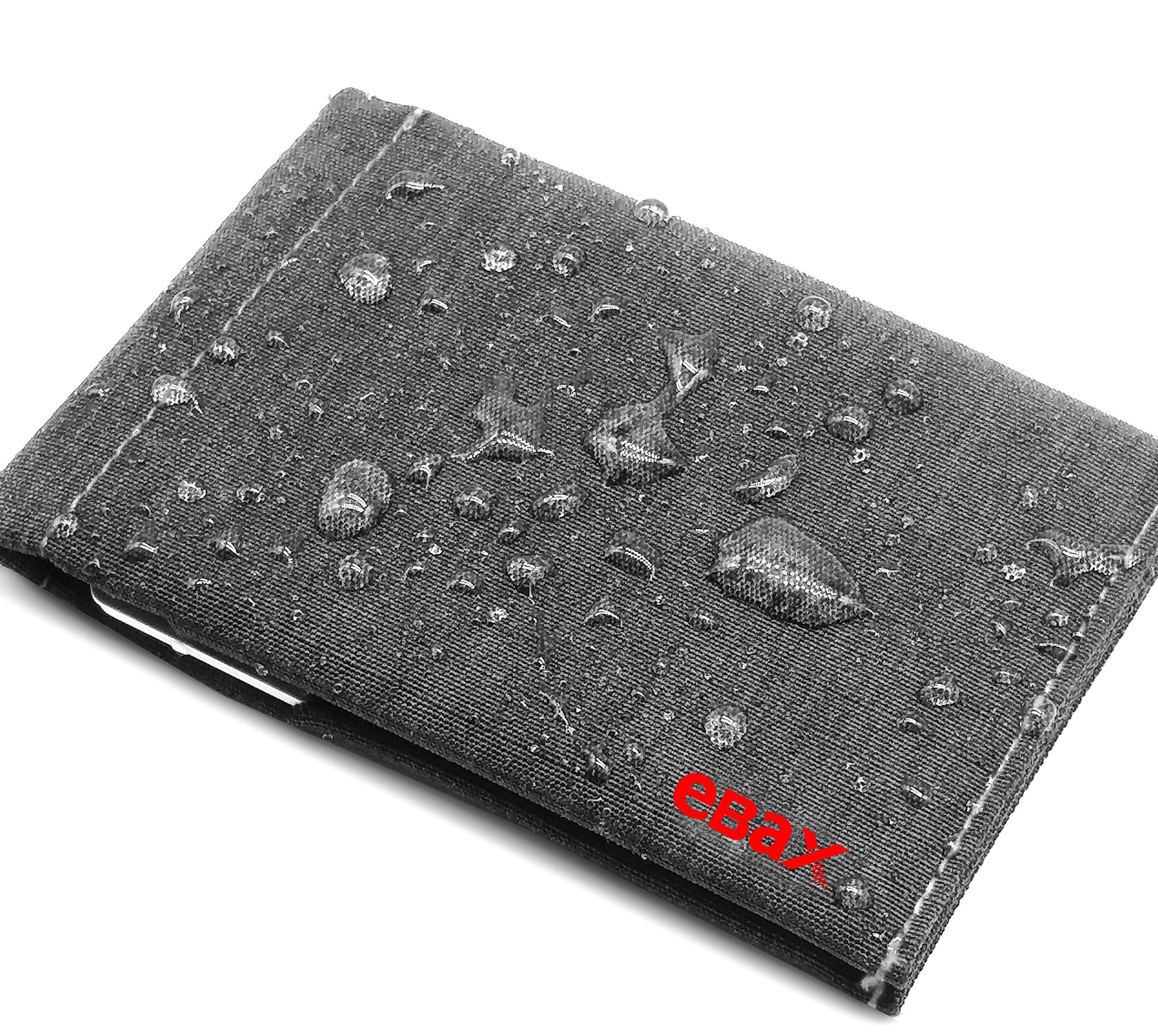 Ebax Mens Bifold Minimalist Slim Front Pocket Wallet