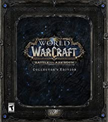 Amazon com: World of Warcraft Battle for Azeroth Collector's Edition