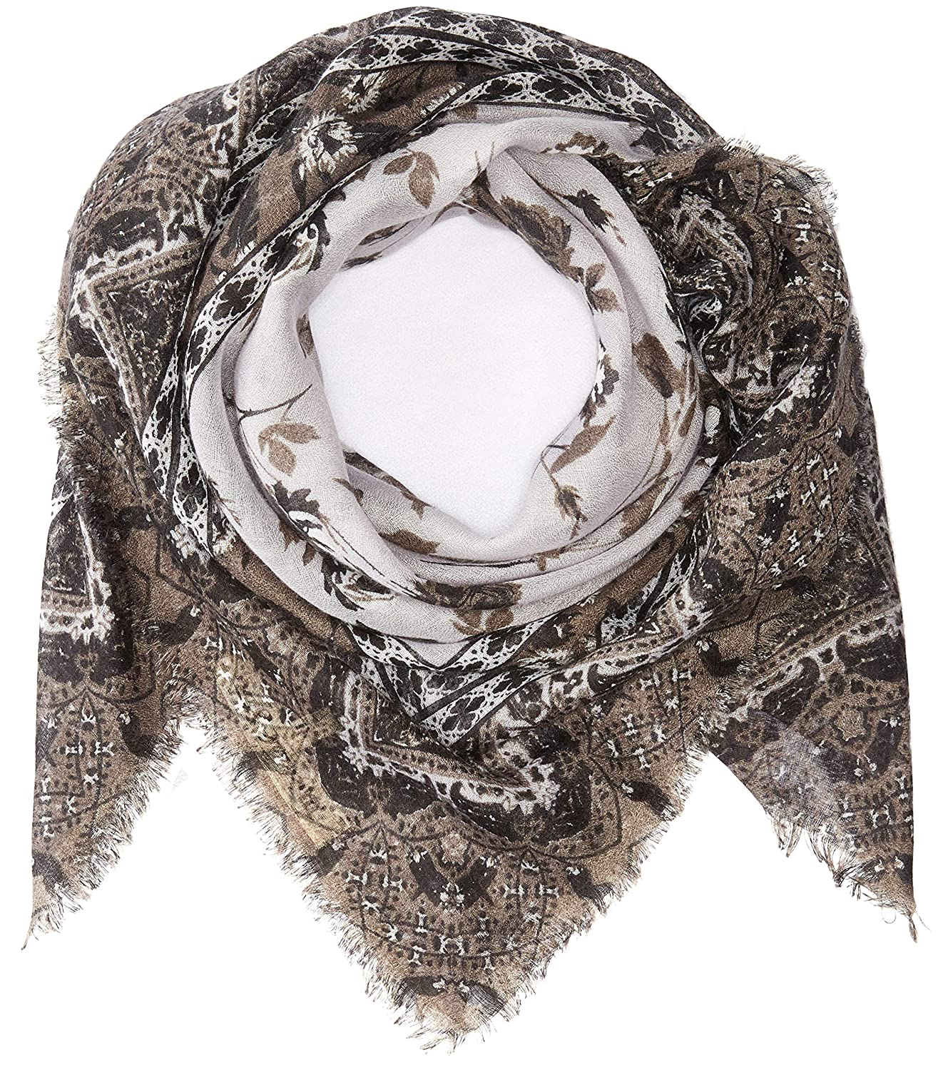 Michael Stars Womens Falling For Florals Square Scarf