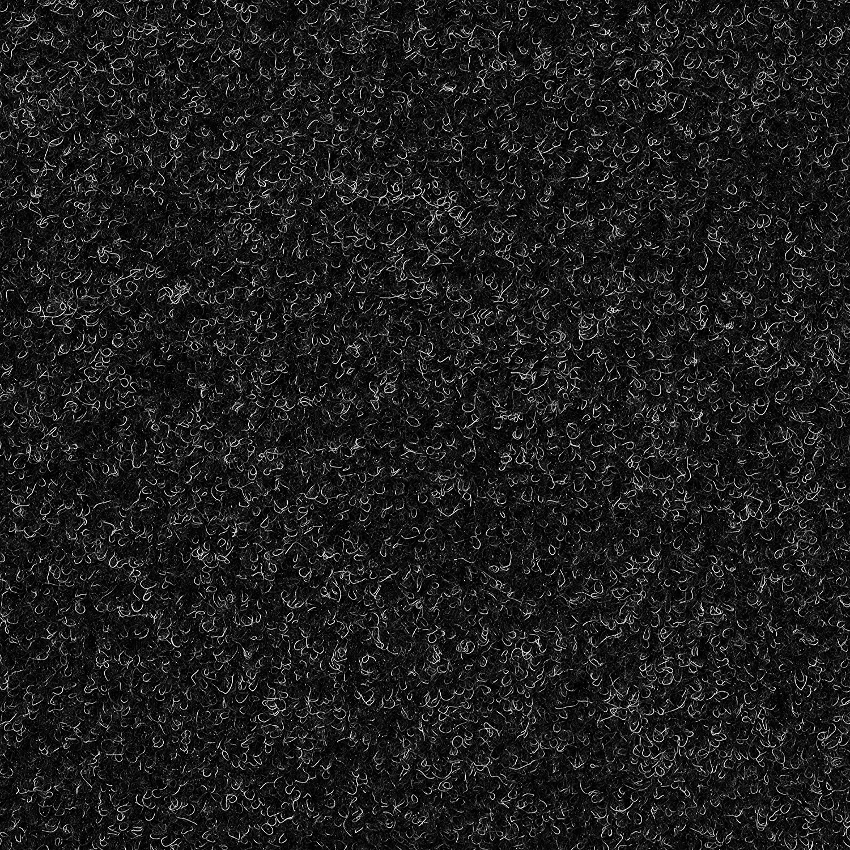 7,5mm H/öhe ca Meterware Gr/ö/ße: 7,5 x 4 m verschiedene Gr/ö/ßen Kunstrasen Rasenteppich mit Noppen anthrazit schwarz 133 200 und 400 cm Breite