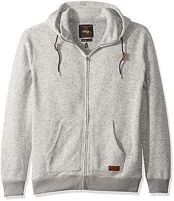 2092a6105b Quiksilver Men's Keller Zip Up Hoodie Jacket