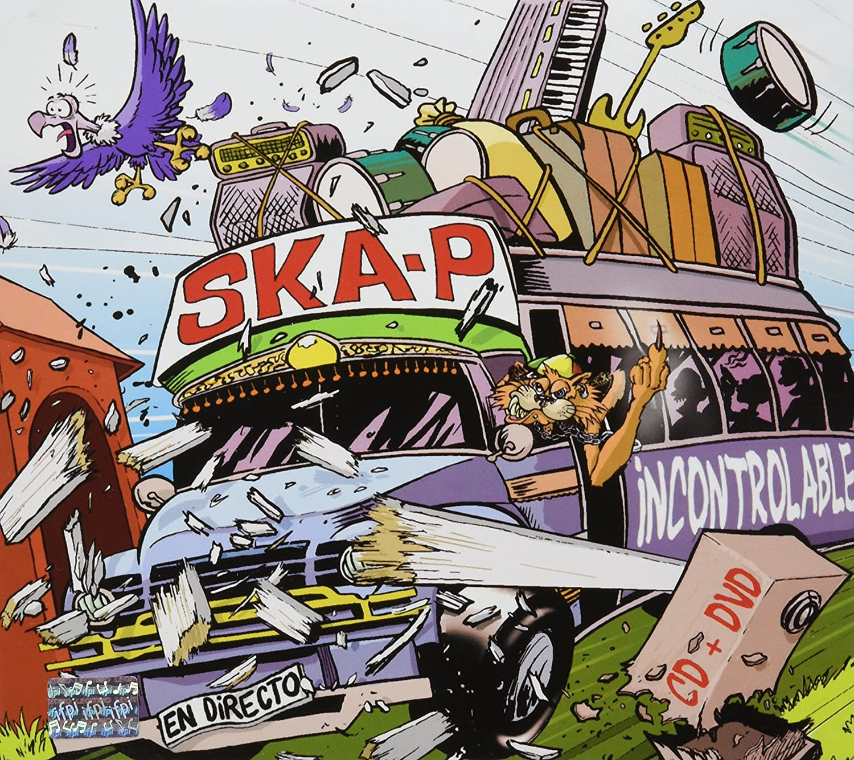 dvd de ska-p incontrolable