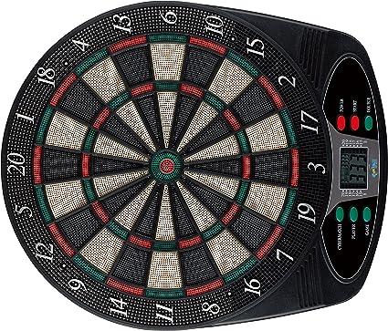 Elektronische Dartscheibe Dartboard Dart Dartspiel 6 Dartpfeile 8 Spieler CO
