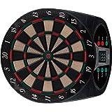 Solex, Bersaglio freccette elettronico classic 8 Player 6 Soft Darts 24 Tips, Multicolore (mehrfarbig), 49 x 42 x 3 cm