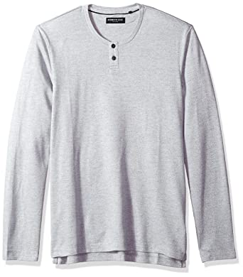 90efd925 Kenneth Cole New York Men's Techy Thermal Henley, Indigo, Large at Amazon  Men's Clothing store: