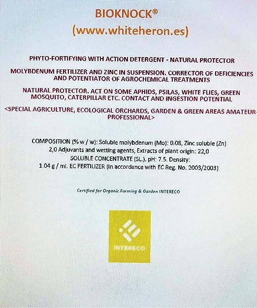 BIOKNOCK® (1.000 m2; Insectos/Pulgón/Oruga; Perfil Insecticida ...