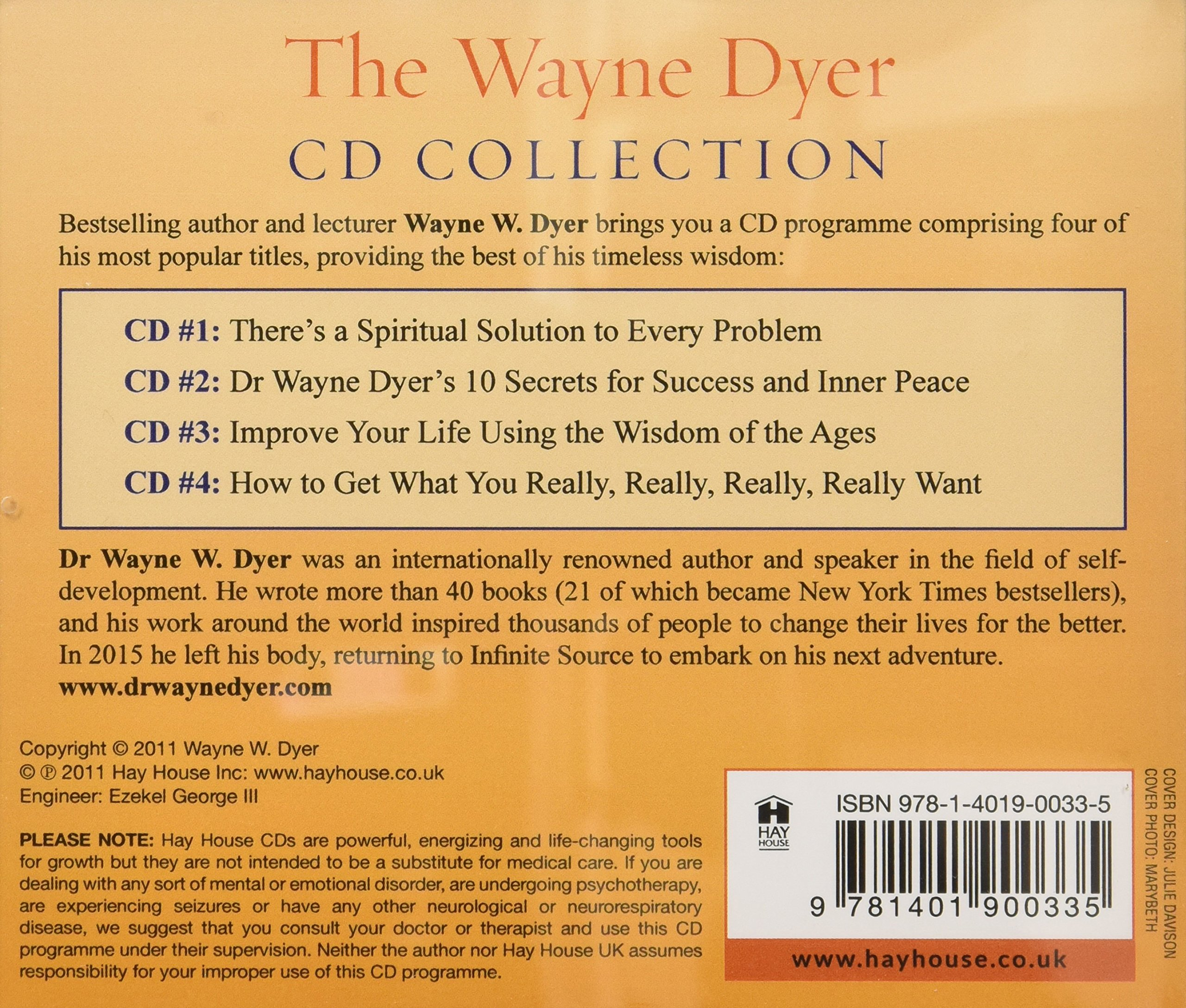 Wayne dyer cd collection dr wayne w dyer 9781401900335 amazon wayne dyer cd collection dr wayne w dyer 9781401900335 amazon books fandeluxe Images