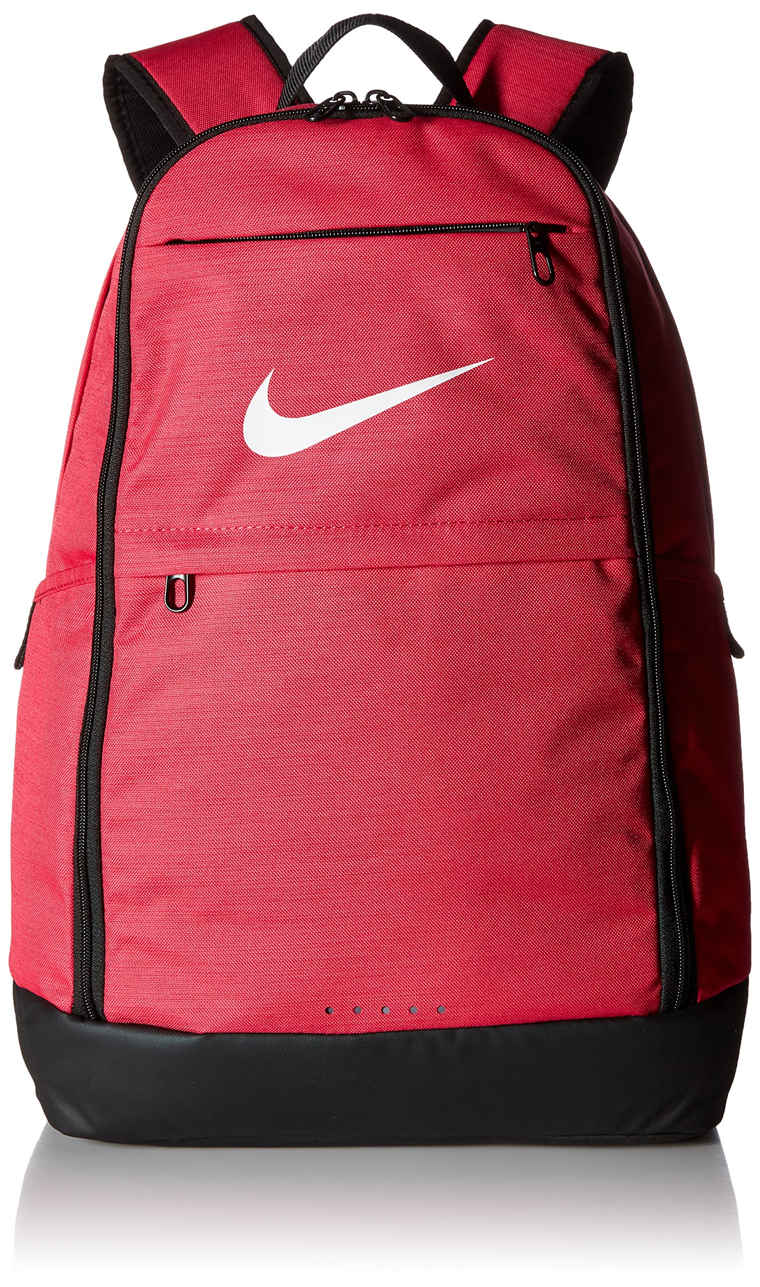 Nike Brasilia Training Backpack, Extra Large Backpack Built for Secure Storage with a Durable Design, Rush Pink/Black/White by Nike