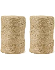 600 Feet Jute Twine String for Packing and Garden
