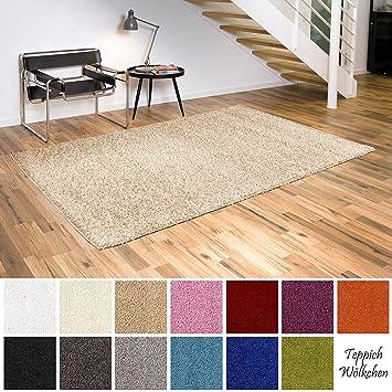 Amazon.de: Shaggy-Teppich | Flauschige Hochflor Teppiche für ...