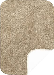 """product image for Maples Rugs ColorSoft Non Slip Washable & Quick Dry Soft Bathroom Rugs [Made in USA], 20"""" x 34"""", Clay Beige"""