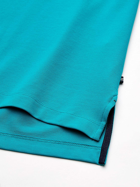 Nautica Mens Short Sleeve Solid Deck Polo Shirt