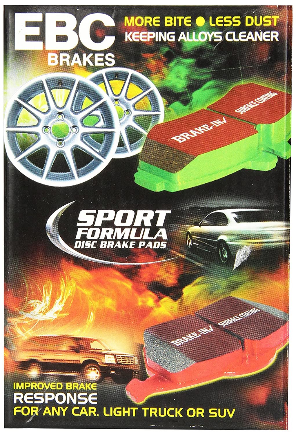 EBC Brakes DP41577R Yellowstuff Street and Track Brake Pad