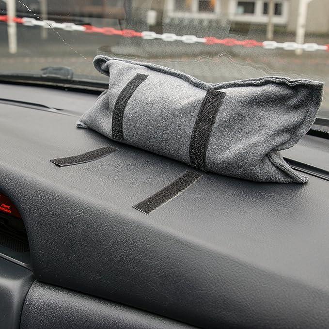 1/kg Gercar per dire addio alle finestre appannate con chiusura in velcro per fissaggio con interno in gel di silice riutilizzabile senza riempimento sacchetto deumidificatore per auto