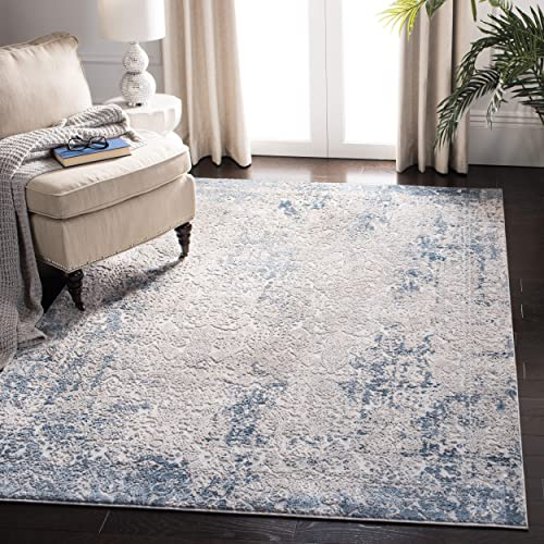 Safavieh Invista Collection INV465F Area Rug, 8 x 10 , Grey Ivory