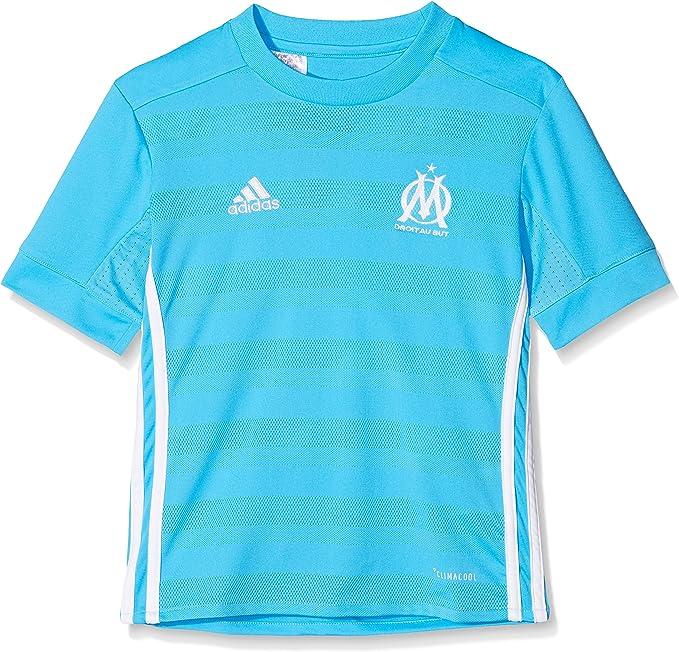 adidas Om A JSY Y - Camiseta 2ª Equipación Olympique de Marsella 2017-2018 Niños: Amazon.es: Ropa y accesorios