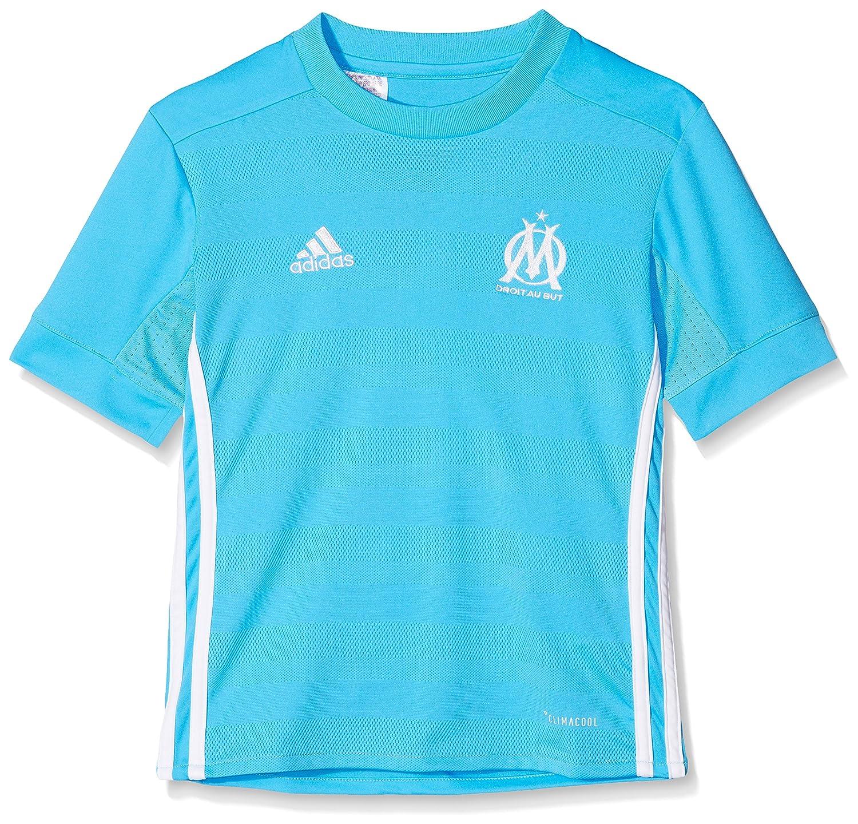 Adidas Kinder Replica Olympique Marseille Auswärtsshorts, Blau