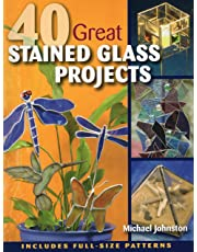 40 Great Stained Glass Projects: Includes Full-Size Patterns